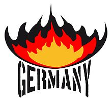 Germany fire flame logo by Style-O-Mat