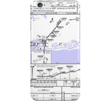 Aviation Chart KJFK - New York iPhone Case/Skin