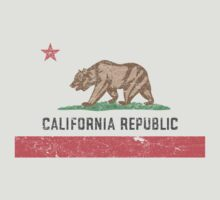 Vintage California Flag by medallion