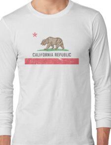 Vintage California Flag Long Sleeve T-Shirt