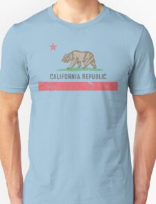 Vintage California Flag Unisex T-Shirt