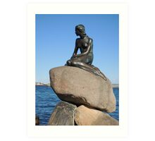Emotional Depths: The Little Mermaid (Copenhagen) Art Print