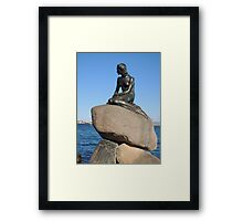 Emotional Depths: The Little Mermaid (Copenhagen) Framed Print