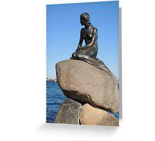 Emotional Depths: The Little Mermaid (Copenhagen) Greeting Card