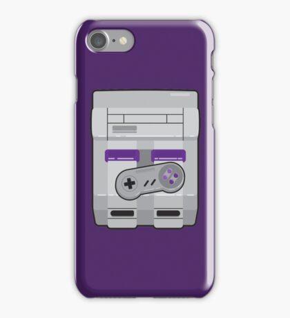 Super Nintendo Entertainment System iPhone Case/Skin