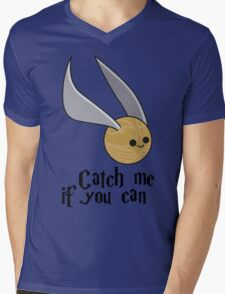Catch me if you can! Mens V-Neck T-Shirt