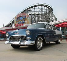 A Cool Classic Car And A Coaster by Michelle Burley Gantt