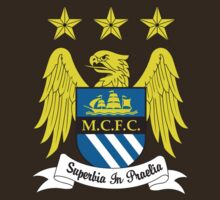 MANCHESTER CITY LOGO T-SHIRT VERSION 2 by shooterch