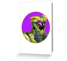 Waspinator Greeting Card