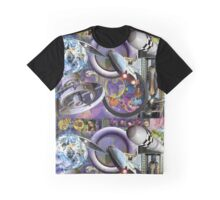 Nano Man in a South Wales Landscape. Graphic T-Shirt