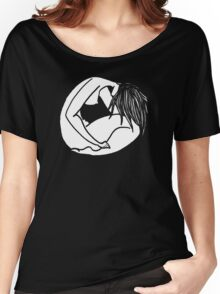 The girl Women's Relaxed Fit T-Shirt