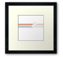 Chopping Lines Framed Print