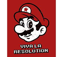 Viva la Resolution Photographic Print