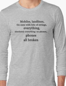Ianto & Phones Long Sleeve T-Shirt