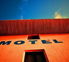Beach Motel by Sean Brett