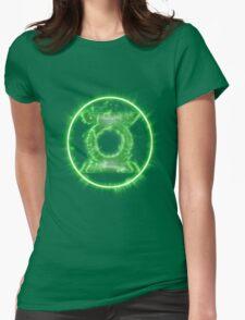 Lantern Full Power! Womens Fitted T-Shirt