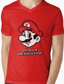 Viva la Resolution Mens V-Neck T-Shirt