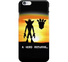 Crash Bandicoot - The Return iPhone Case/Skin