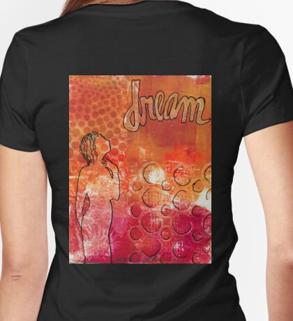 I Too Have A Dream Womens Fitted T-Shirt