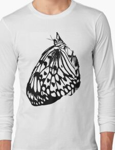 Paper Kite Butterfly Art Long Sleeve T-Shirt
