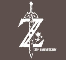 Breath of the Wild Z-Logo (30th Anniversary) One Piece - Short Sleeve
