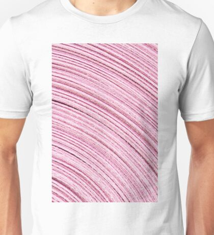 A Roll Of Pink Ribbon - Macro  Unisex T-Shirt