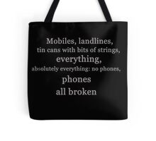 Ianto & Phones Tote Bag