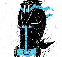 Easy Ridin' Walrus by RonanLynam