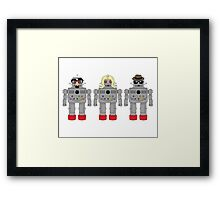 Robots in Disguise  Framed Print