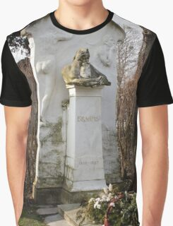 Grave Of Johannes Brahms Graphic T-Shirt