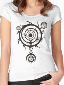 Spell circle Women's Fitted Scoop T-Shirt