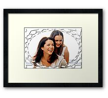 Gilmore Girls 11 Framed Print