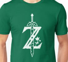 The Legend of Zelda Z-Logo (Transparent/White) Unisex T-Shirt