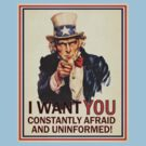 Afraid & Uniformed by LibertyManiacs