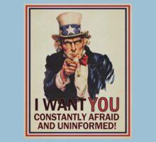 Afraid & Uniformed by LibertyManiacs