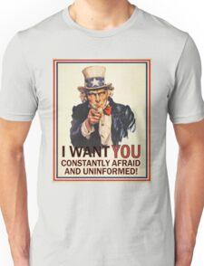 Afraid & Uniformed T-Shirt