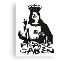 Praise Lord Gaben Canvas Print