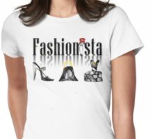 Fashionista #2 Womens Fitted T-Shirt