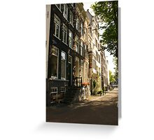 Amsterdam Alley Greeting Card