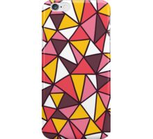 triangles abstract  iPhone Case/Skin