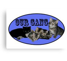 OUR GANG Canvas Print