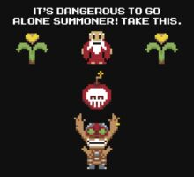 Its Dangerous To Go Alone Summoner! by RetroReview