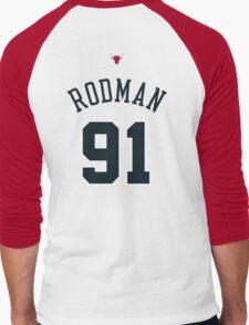 Dennis Rodman Men's Baseball ¾ T-Shirt
