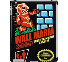 Wall Maria Entertainment System iPad Case/Skin