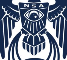 NSA Nothing To Hear Sticker