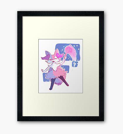Braixen Framed Print