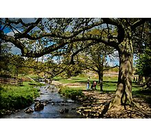 Tales On The Riverbank Photographic Print