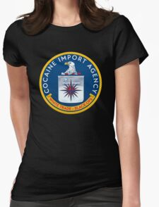 CIA (Cocain Import Agency) Womens Fitted T-Shirt