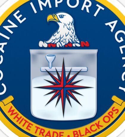 CIA (Cocain Import Agency) Sticker