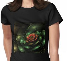 Breathe - Abstract Fractal Artwork Womens Fitted T-Shirt